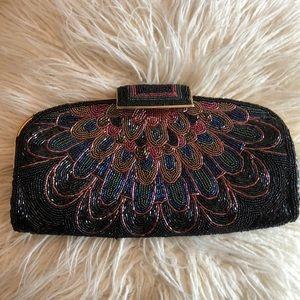 Handbags - Beautiful Vintage Beaded Handbag/Clutch Bag